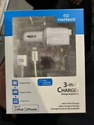 Naztech N300 Apple Certified Lightning 3-in-1 Charger