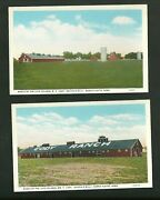 2 Pre 1930and039s Unused Post Cards Ranch Of The Late Colonel W.f. Cody Buffalo Bill