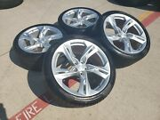 20 Chevy Camaro Ss Oem Staggered Wheels Rims Tire 5940 5878 2019 2020 2021 New
