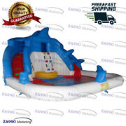 20x20ft Commercial Inflatable Bounce Water Slide And Pool With Air Blower