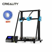 Creality Cr-10 V2 3d Printer 350w Meanwell Power 300300400mm +blue Filament Us