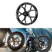 30 Front Wheel Rim Dual Disc Wheel Hub Fit For Harley Electra Glide 2008-2020