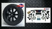 Club Car Ds Golf Cart 4 Spindle Extension Lift Kit +14 Wheels And 22 At Tires