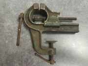 Vintage Antique Small Vise Machinist Anvil Gunsmith Jeweler Clamp Bench