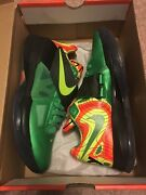 Used Nike Kd Iv Weatherman Us 9 Ds Aunt Pearl 1 Retro Bred Nerf Galaxy Ow 4