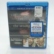 Last House On The Left/the Strangers/a Perfect Getaway Oop Bluray New And Sealed