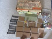Vtg 1950s Marx Fort Apache Stockade Series 2000 Set 3660-mo With Damage Box