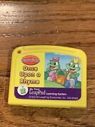 My First Leap Pad Learning System Cartridge Once Upon A Rhyme - Reading