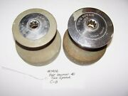 Used Pair Chromed Bronze Lewmar 40 Two Speed Winches Lot 1906