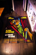 Torn Curtain Hitchcock 4x6 Ft Vintage French Grande Movie Poster Original 1966
