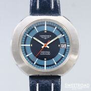 Longines Admiral New Old Stock Cal.431 Vintage Automatic Mens Watch Auth Works
