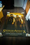 Lord Of The Rings Style A Vinyl Banner 4x6 Ft Movie Poster Original 2003