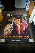 Lord Of The Rings Style A Vinyl Banner 4x6 Ft Movie Poster Original 2001
