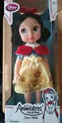 Official Disney Limited Edition Animators Collection Snow White Doll 16'' Nib