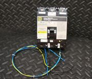 Square D Fhl3610016dc2351 Circuit Breaker 100 Amp Auxiliary Switch Shunt Trip