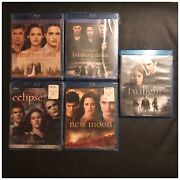 Complete Twilight Saga•new Moon•eclipse•breaking Dawn-part 1and2 Blu-ray, 5-disc