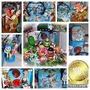 Huge Disney Toy Story Pull String Talking Lrg Woody/jessie/buzz Combo Pack Lot