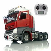 Lesu 66 Tractor Truck Rc 1/14 Metal Chassis Light Radio Hercules Painted Cabin