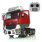 Lesu Rc 1/14 Metal Chassis Rack Actros Hercules Cabin Radio Sound Tractor Truck