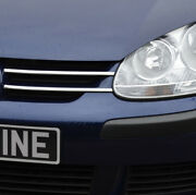 Highlight Chrome Grille Accent Trim Covers Set To Fit Volkswagen Golf V 04-09