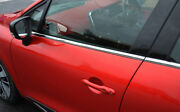 Chrome Side Door Window Sill Trim Set Covers To Fit Renault Clio Iv 2012