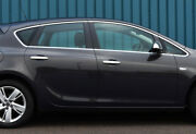 Chrome Side Door Window Sill Trim Covers To Fit Vauxhall Astra J Hatch 10-16