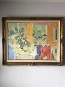 Georges Ferro La Gree French Impressionist Oil Painting 1960s Modern France