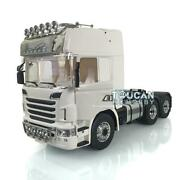 Lesu 1/14 66 Metal Chassis Axles Horn Hercules Scania R730 Cabin Tractor Truck