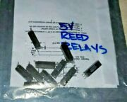 Lot Of 12 Gordos Sm Surface Mount Form C - Reed Relay W/ 5vdc Coil 200v 0.5a