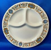 Syracuse China Galatea Divided Grill Plate Railroad Restaurant Ware Olympian A