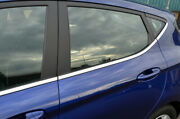 Chrome Lower Side Door Window Sill Trim Covers 8pc To Fit Ford Fiesta 2018