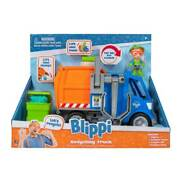 Blippi 3 Action Figure And Recycling Truck With Vehicle Sounds