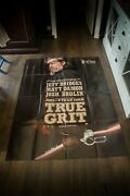 True Grit Cohen Brothers 4x6 Ft French Grande Movie Poster Original 2010
