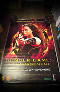 Hunger Games Catching Fire 4x6 Ft Bus Shelter D/s Movie Poster Original 2013