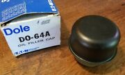 Nos Dole Ford Style Oil Cap New Do-64a 1960and039s 1970and039s