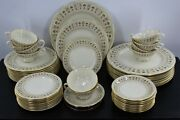 Lenox Tableau G 510 Set Of 5 Pieces For 10 People Total 50 Pieces Mint Cond.