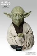 Star Wars 11 Yoda Bust Sideshow Collectibles Life Size 049 Of 100 New