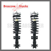 Front Pair Complete Strut W/spring For 1998-2000 2001 2002 2003 2004 Volvo C70