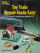 Toy Train Repair Made Easy 21 Lionel Postwar Projects Ray L Plummer Rare Book Gd