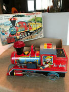 Vintage Fairyland Tin Train Lithograph Toy In Orig Box Circa 1950and039s