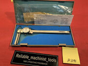 New Special Knife Edge Mitutoyo 8 Dial Caliper Machinist Tool P390