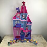 Fisher Price Little People Disney Princess Magical Wand Palace And 11 Figures