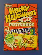 2013 Topps Wacky Packages Halloween Postcard Sealed Set