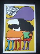 The Three Musketeers / Cuban Silkscreen Movie Poster By Cuba Art Master Bachs