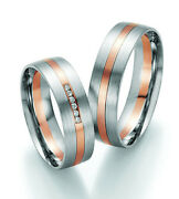 Pair Rings Engagement Rings Wedding Rings Gold Brilliant With