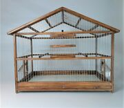 Large Size Cage // Bird House // Bird Home // Wooden Handcrafted // Aviary