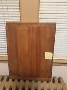 Old Grubby Primitive Farmhouse Wood Noodle Pastry Cutting Board Board W Edge