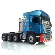 Rc Lesu Metal 88 1/14 Chassis Tractor Truck Hercules Highline Scania Cabin