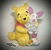 Vintage Disney Rare Winnie The Pooh And Piglet Friends Forever Cookie Jar Wow