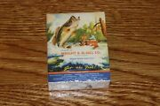 Wright And Mcgill Eagle Claw Fishing Tackle Collectible Playing Cards New Sealed